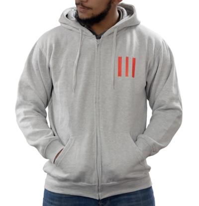 Grey 3-Bar Hood
