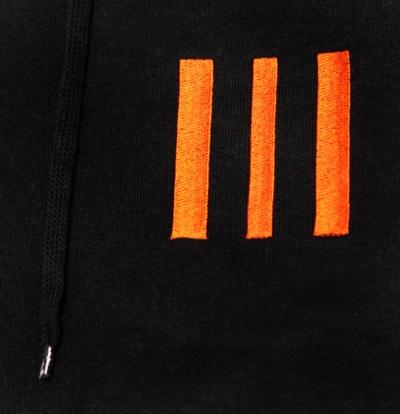 Black 3-Bar Hood Close