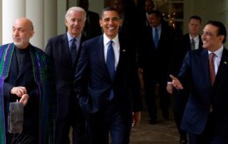 Karzai, Joe Biden, Obama, Zardari